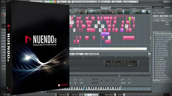 تدوین موسیقی با Nuendo 8